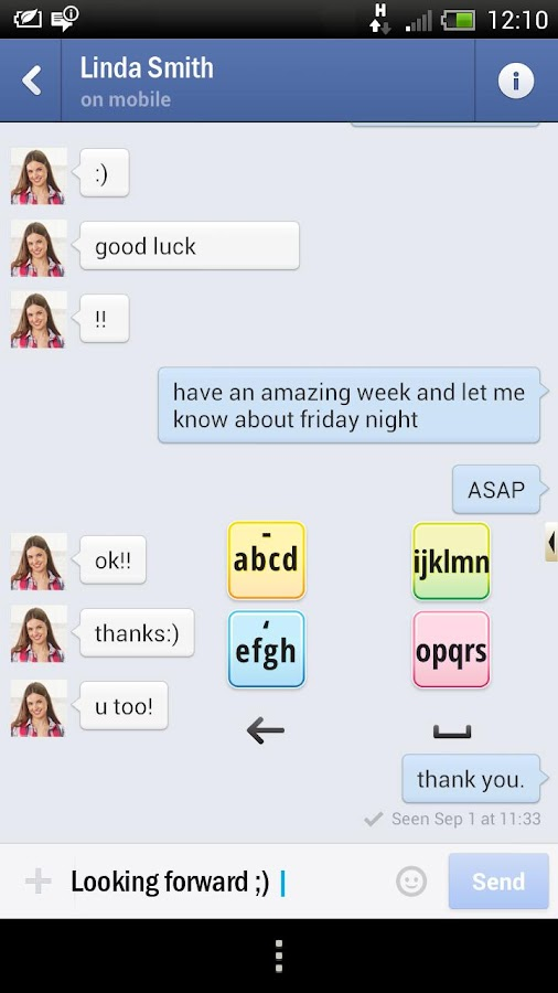 ABC4 Keyboard - screenshot