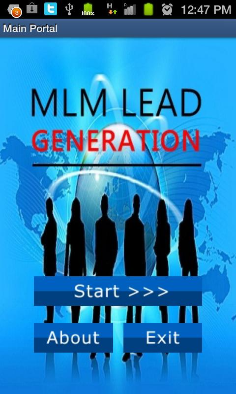 Generate Leads 4 Usana Biz - screenshot