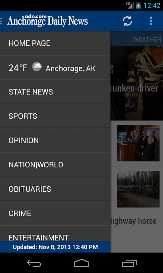 Anchorage Daily News - ADN - screenshot