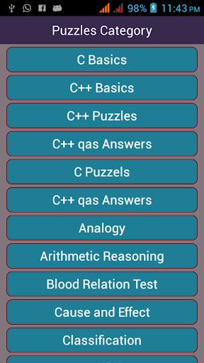Math Puzzle C and C Plus
