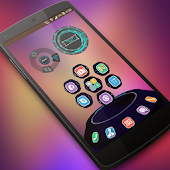 Flat UI Next Launcher 3D Theme