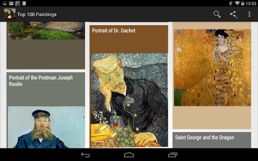 教育必備APP下載 Top 100 Paintings 好玩app不花錢 綠色工廠好玩App