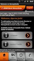 Screenshot of ICICI Bank Money2India