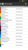 Screenshot of London Tube Master +