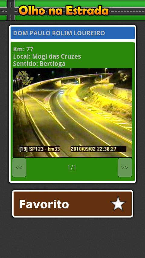 Olho na Estrada - screenshot