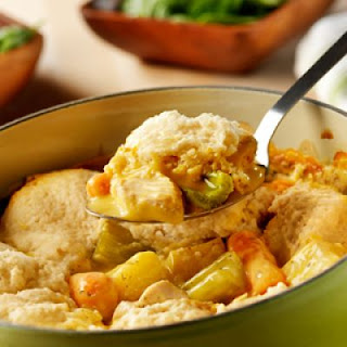 Slow-Cooker Chicken & Dumplings.