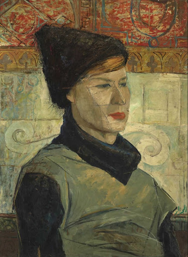 Portrait of an Italian Woman