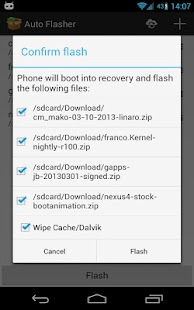 Auto Flasher ROM flash utility - screenshot thumbnail
