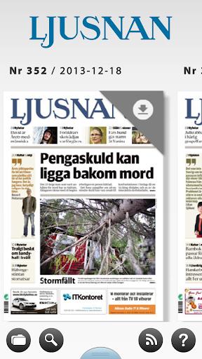 Ljusnan e-tidning