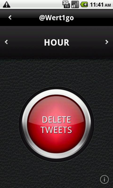 DELETE TWEETS: DLTTR - screenshot