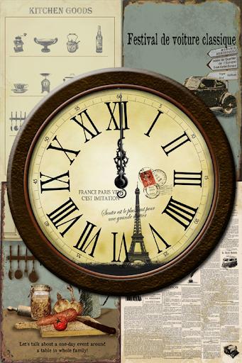 設計模擬時鐘壁紙 - No02