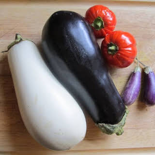 Indian Eggplant and Tomato Casserole.
