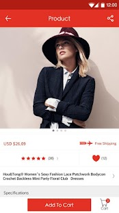 LightInTheBox Online Shopping - screenshot thumbnail