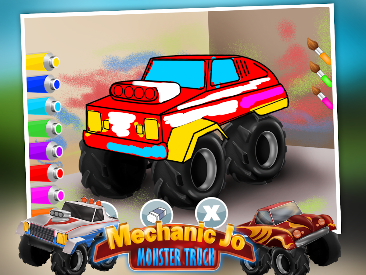 Mechanic Jo - Monster Truck- screenshot