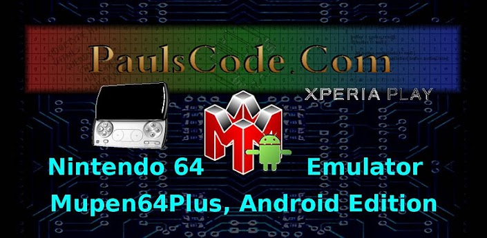 Mupen64Plus, AE (Xperia Play)