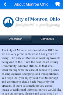 City of Monroe Ohio - náhled