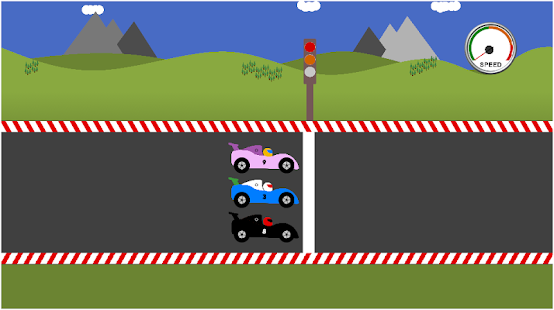 math car racing game for kids screenshot thumbnail