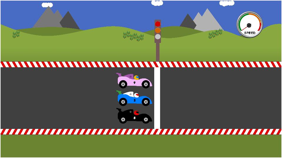 math car racing game for kids screenshot