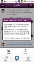 Screenshot of Yahoo Messenger Plug-in