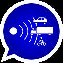 Aviso de radares y controles con Social Drive