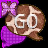 GO SMS THEME/PurpleGiraffe