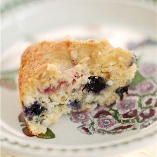 Berrylicious Coconut Crumb Cake.