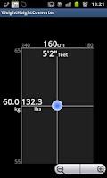 Screenshot of Weight Height Converter Free