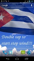 Screenshot of 3D Cuba Flag Live Wallpaper