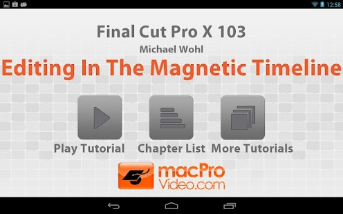 FCP X Magnetic Timeline