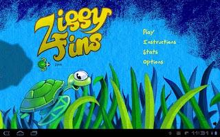 Screenshot of Ziggy Fins Lite