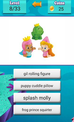 Quiz Bubble Toys