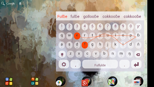 Fulfude Keyboard Plugin screenshot 1
