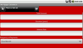 Screenshot of Loan Payment Calculator