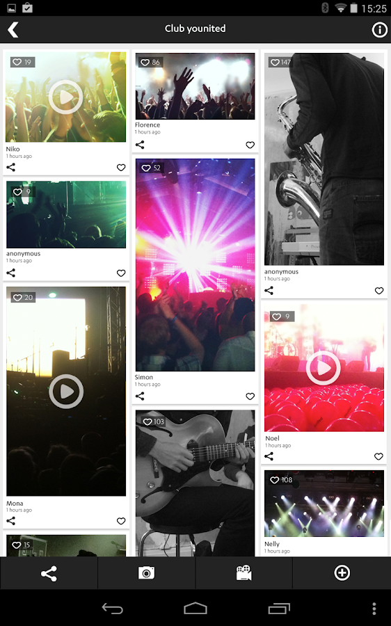 younited Events- screenshot