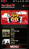 Screenshot of Hard Rock FM