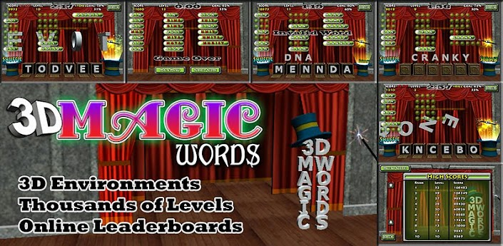 3D Magic Words FREE 4.7 apk Download from amazon