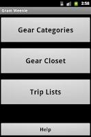 Screenshot of Gram Weenie