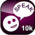 Speak In to SPEAK 10k icon