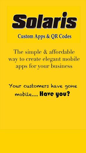 Solaris Mobile Apps QR Codes