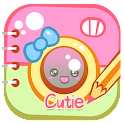 Cutie Text on Pics: Photo Edit icon