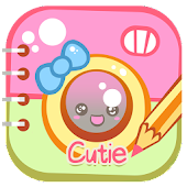 Cutie Text on Pics: Photo Edit