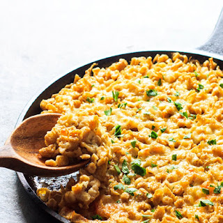 Oven-Baked Spaetzle and Cheese.