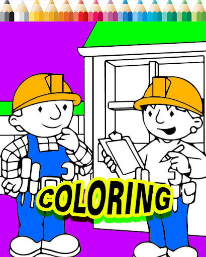 Bob Coloring Page The Builder