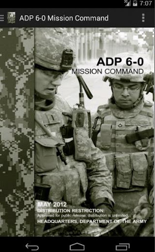 ADP 6-0 Mission Command