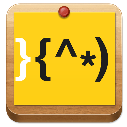 Typo Happy Man atom theme 個人化 App LOGO-APP試玩