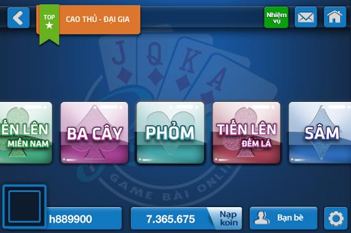 Game Bai Online Tien Len Phom