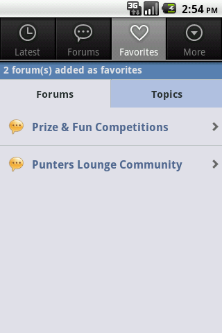 PL Forum - screenshot