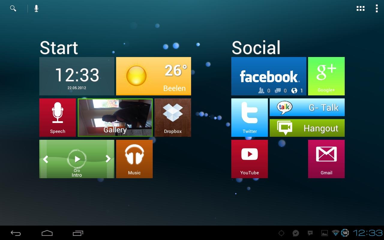 Metro Ui HD Widget Tile Win 8 - screenshot