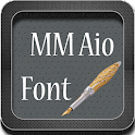50 Fonts free for Galaxy icon