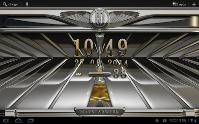 Digi Clock Widget Iridium APK screenshot thumbnail 8